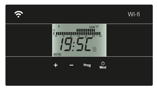 AVANT WIFI 800W termostat