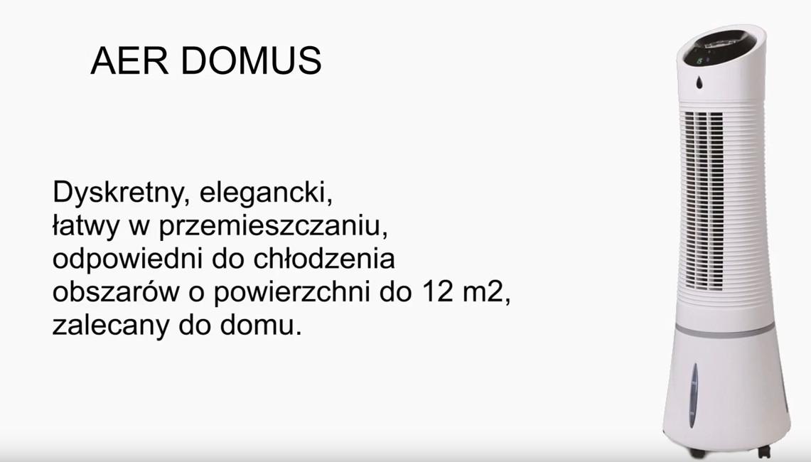 RADIALIGHT AER DOMUS opis urządzenia