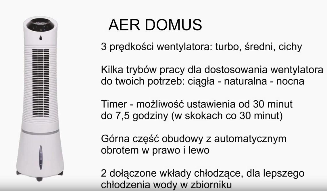 RADIALIGHT AER DOMUS fukcje