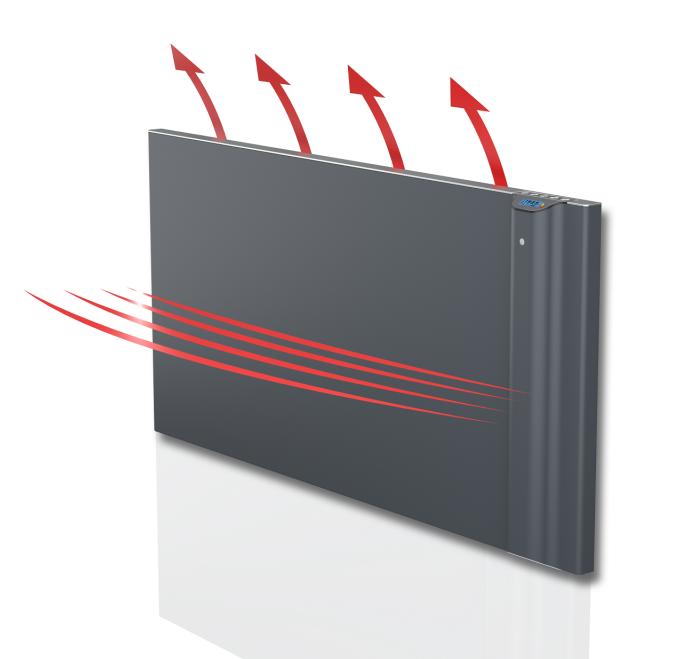 Działanie grzejnika elektrycznego RADIALIGHT KLIMA 10